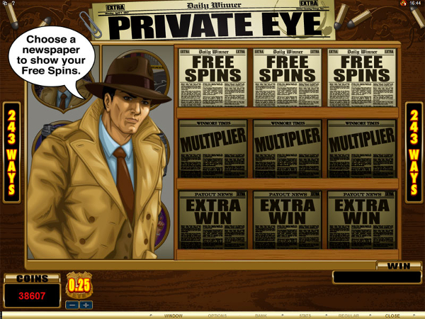 Private Eye: Be the Real Detective
